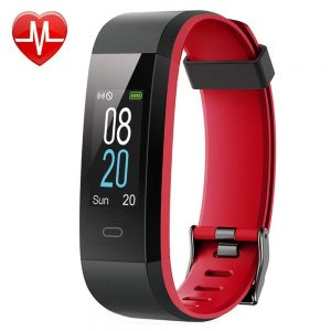willful fitness tracker red