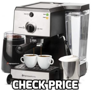 The 7 pc All-in-One set of Espresso maker by EspressoWorks