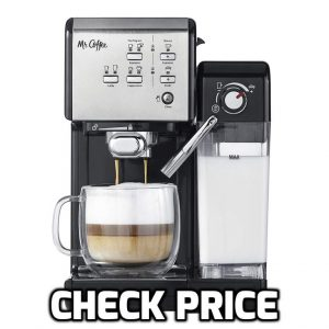 Mr. Coffee One touch Coffeehouse Espresso Machine