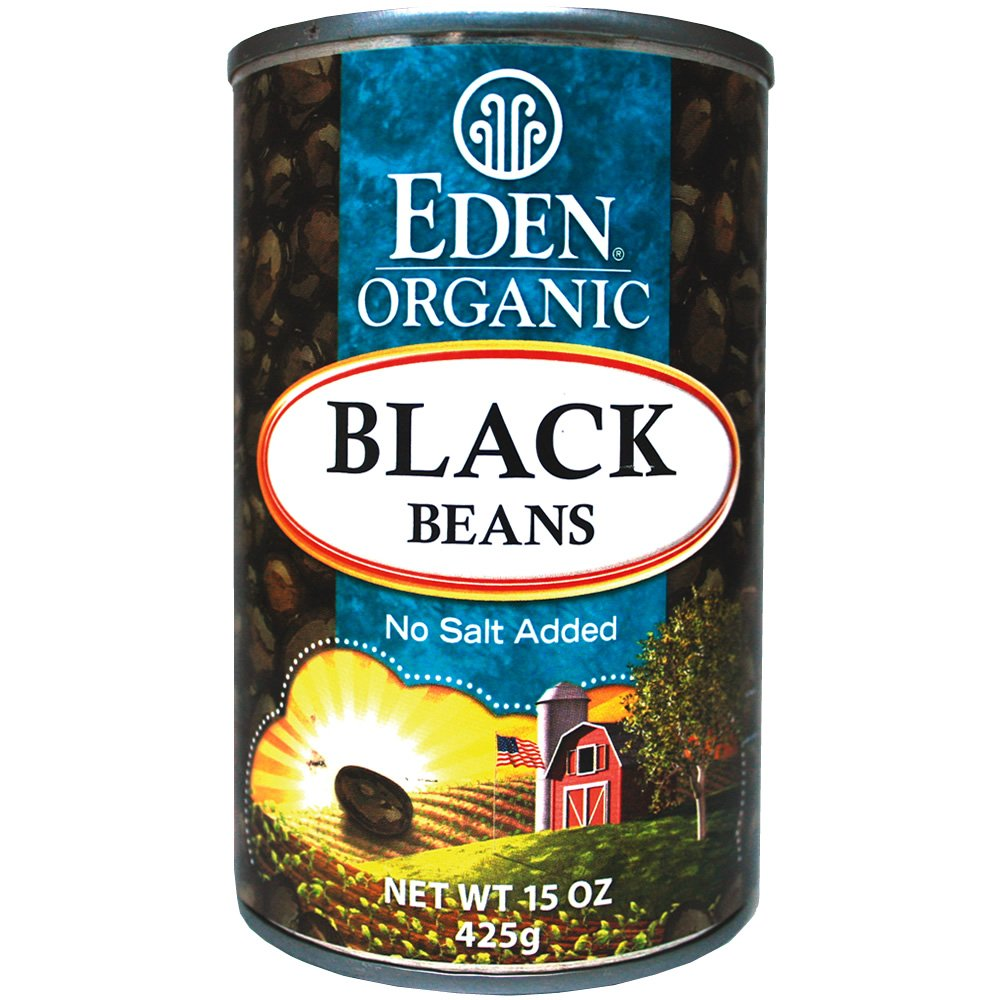 lectin free shopping list - eden black beans