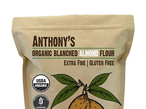 lectin free shopping list - blanched almond flour