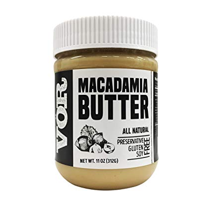 lectin free shopping list - macadamia butter