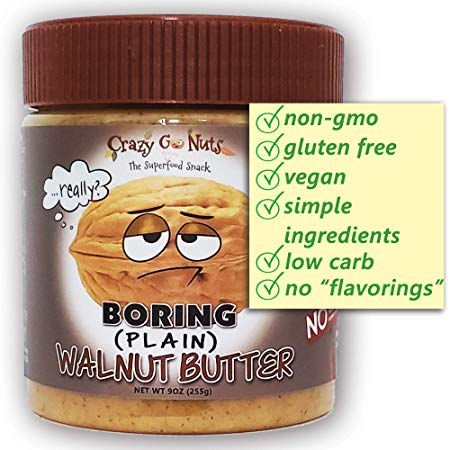 lectin free shopping list - walnut butter