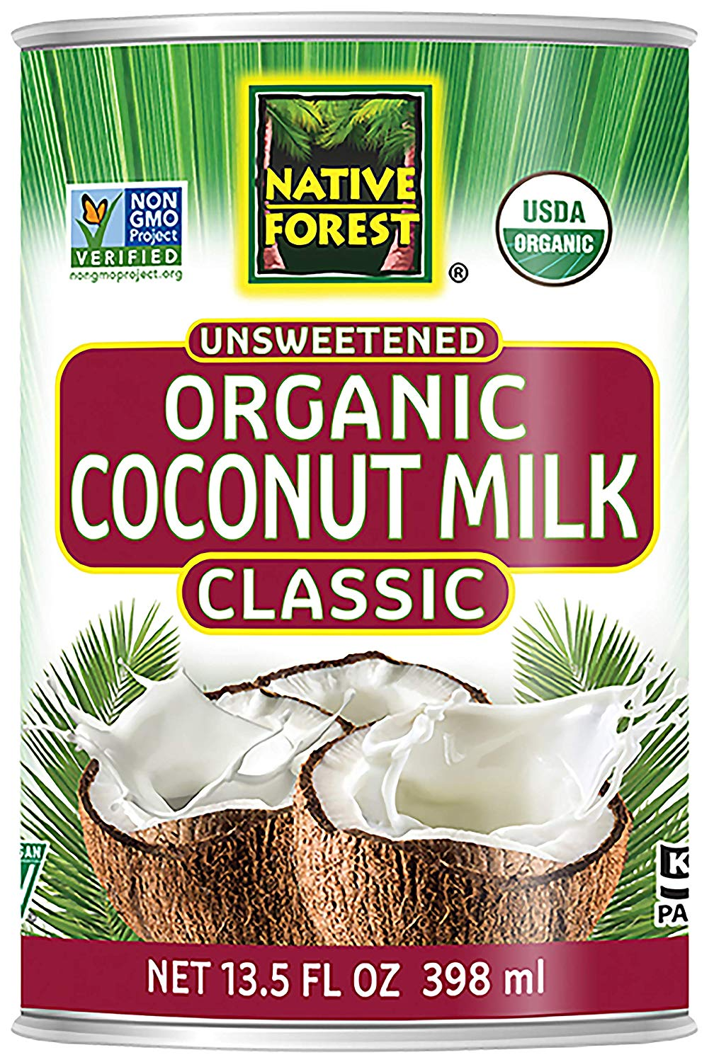 lectin free shopping list - coconut milk