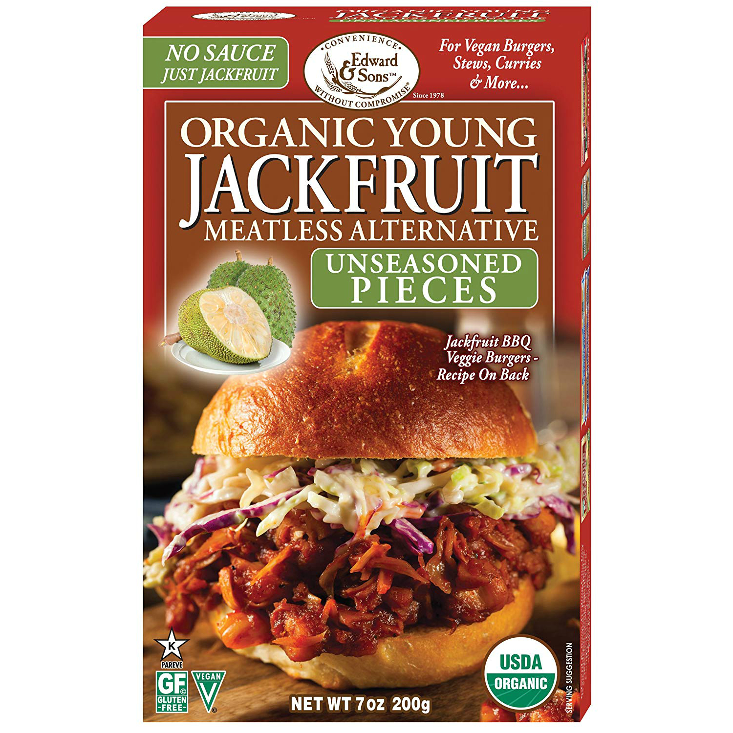 lectin free shopping list - jackfruit