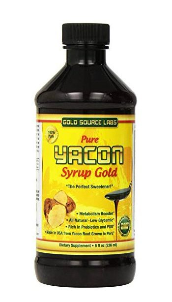 lectin free shopping list - yacon syrup